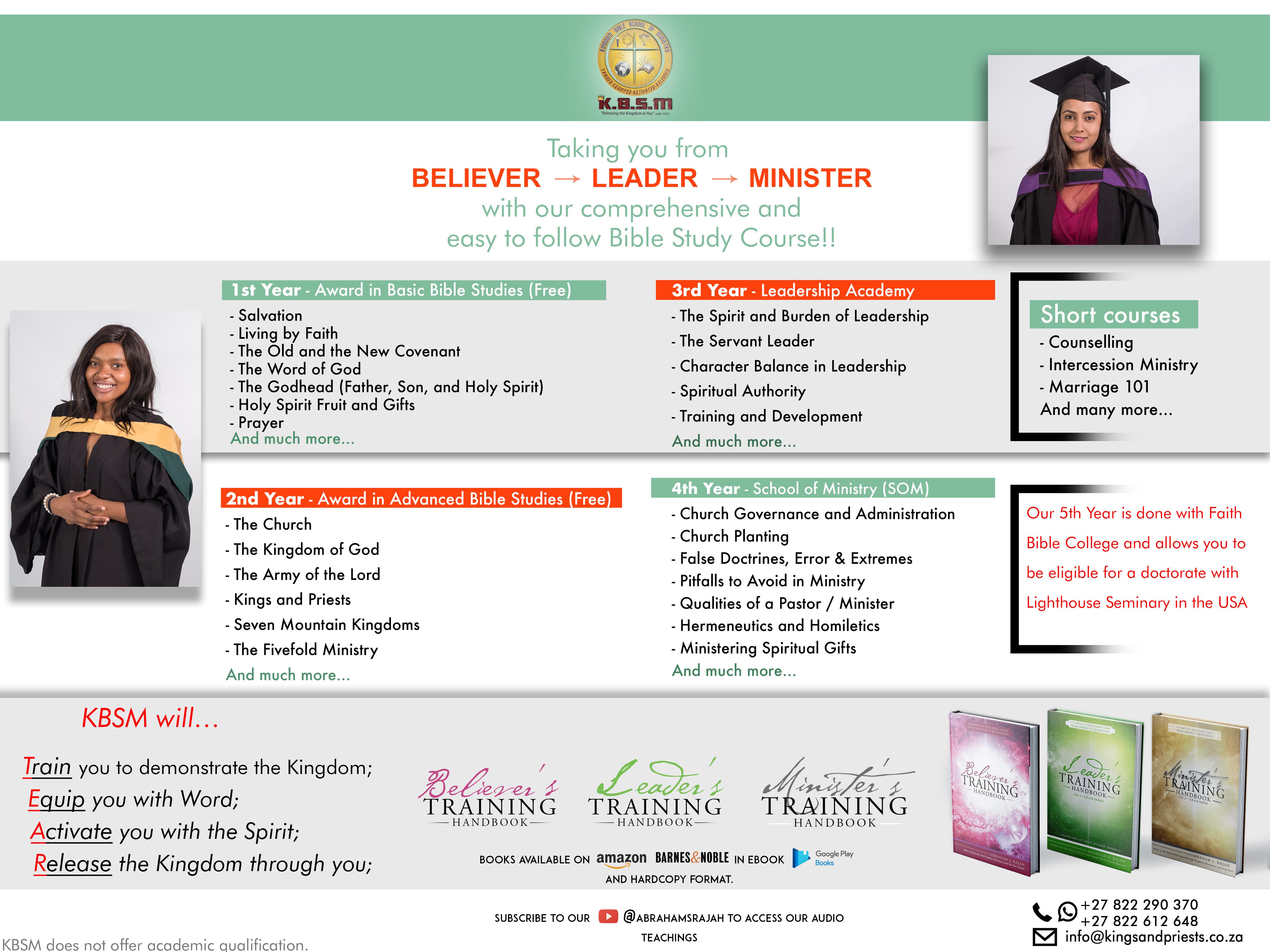Kingdom Bible School of Ministry